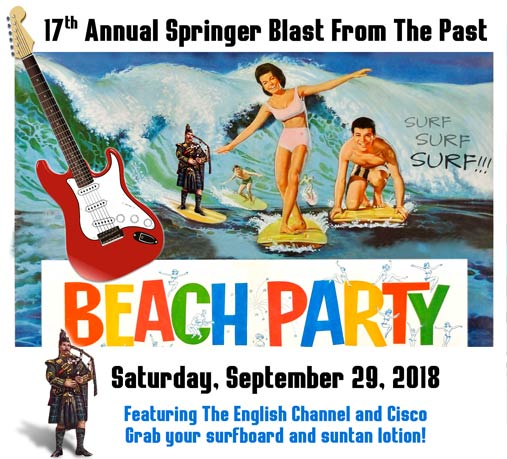 17th Annual Springer BLAST FROM THE PAST